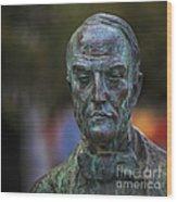 Diego Fernando Montanes Alvarez Statue Cadiz Spain Wood Print