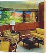 Diemaxium Living Room Wood Print