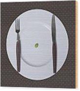 Diet Wood Print