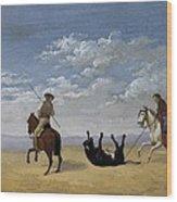 Diez, Joaqu�n 1840. Derribo De La Wood Print