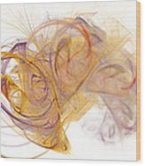Diffusion 5 Wood Print