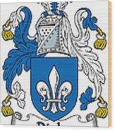 Digby Coat Of Arms Irish Wood Print