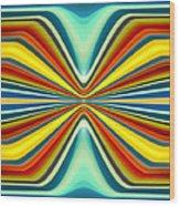 Digital Art Pattern 8 Wood Print by Amy Vangsgard