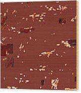 Brownie Camouflage Ghillie Suit Wood Print