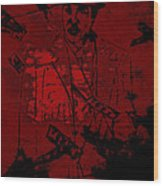 Digital Capone Wood Print
