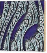 Digital Carvings Wood Print