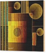 Digital Design 469 Wood Print