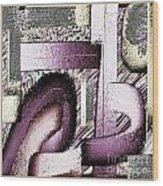 Digital Design 566 Wood Print