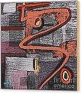Digital Design 574 Wood Print