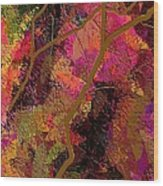 Digital Fall Wood Print