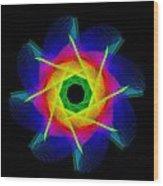 digital flower 08C08h Wood Print