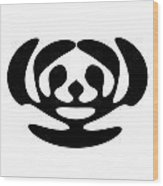 Digital Mono 11 Wood Print