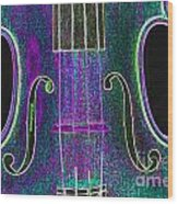 Digital Photograph Of A Viola Violin Middle 3374.03 Wood Print