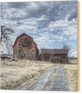 Dilapidated Barn Wood Print