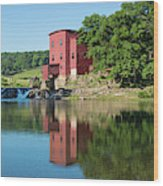 Dillard Mill At Dillard Mill State Wood Print