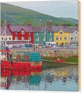 Dingle Ireland Wood Print