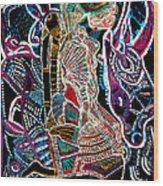 Dinka Bride Wood Print by Gloria Ssali