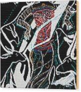 Dinka Dance Wood Print