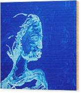 Dinka Painted Lady - South Sudan Wood Print