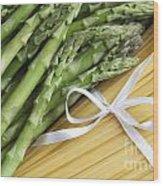 Dinner Ingredients Wood Print