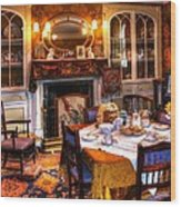Dinning Room Wood Print
