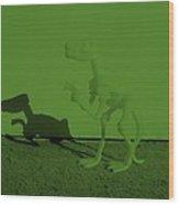 Dino Olive Wood Print