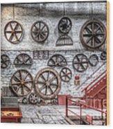 Dinorwig Quarry Workshop Wood Print