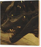 Dinosaur Bones 3 Wood Print