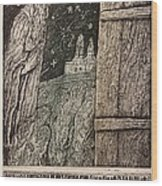 Dionisius Wood Print
