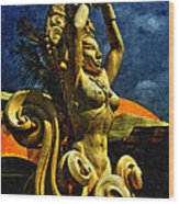 Diosa De Maize Wood Print