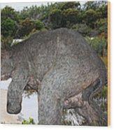 Diprotodon Wood Print