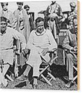 Director Douglas Fairbanks Wood Print