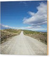 Dirt Road Otago New Zealand Wood Print by Colin and Linda McKie