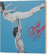 Dirty Dancing The Lift Wood Print