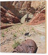 Dirty Devil Mine San Rafael Swell - Utah Wood Print