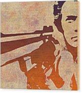 Dirty Harry - 2 Wood Print