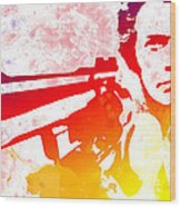 Dirty Harry Wood Print