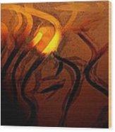 Dirty Window Wood Print by Gun Legler