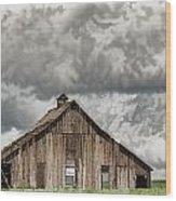 Disappearing America Wood Print