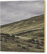 Disaster Peak Road Valley Wood Print