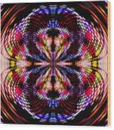 Disco Dancing In A Black Hole Wood Print