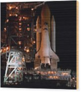 Discovery Space Shuttle Wood Print