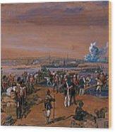 Disembarkation - Kerch, 24 May 1855 Wood Print