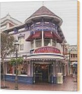 Disney Clothiers Main Street Disneyland 02 Wood Print