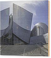 Disney Concert Hall Los Angeles Wood Print
