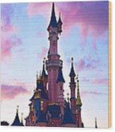 Disney Dream Wood Print