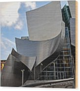 Disney Hall Wood Print