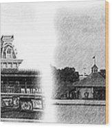 Disney Landmarks Wood Print