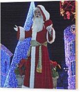Disney Santa Wood Print
