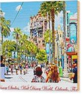 Disney Studios Walt Disney World Orlando Florida Wood Print